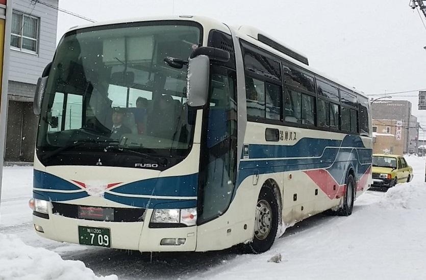 留萌から旭川駅まで快適な沿岸バス