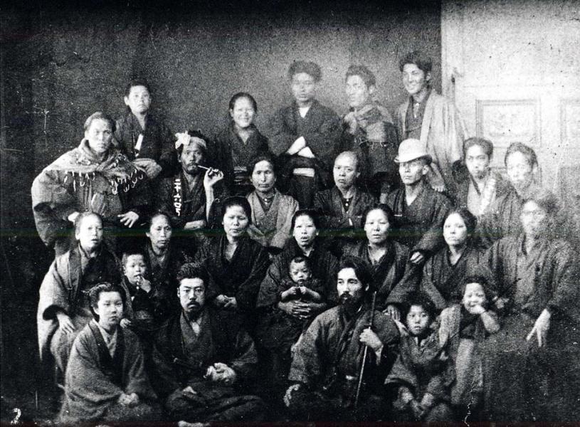 晩成社は北海道開拓を進める結社のひとつとして帯広を開拓